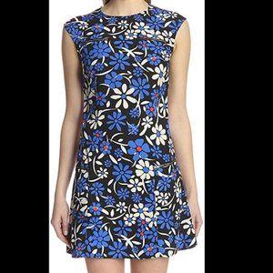 Walter Baker floral zipper detail dress